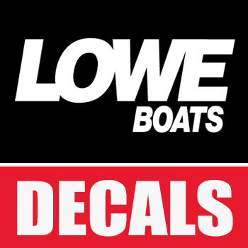 Lowe boat decals