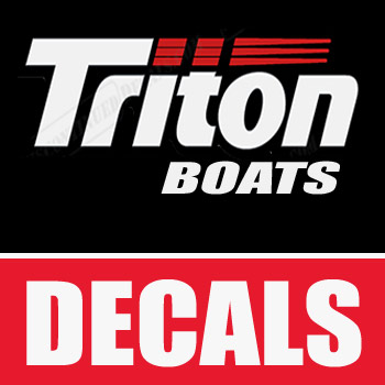 Triton boat decals