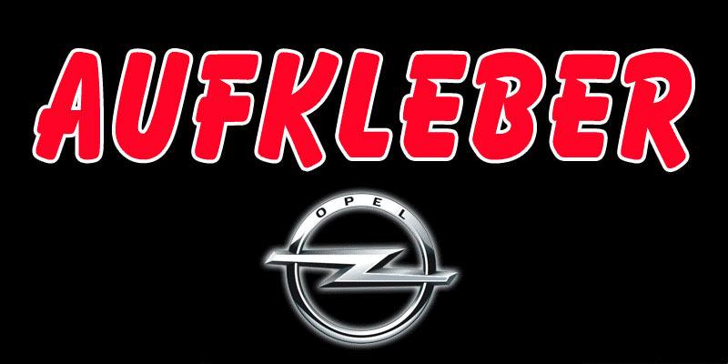 Opel Aufkleber Opel Emblem