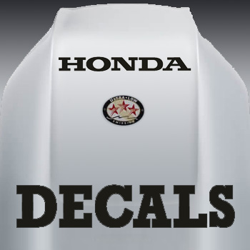 Honda outboard decals