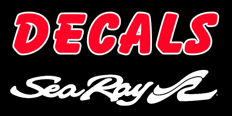 Sea Ray Decals