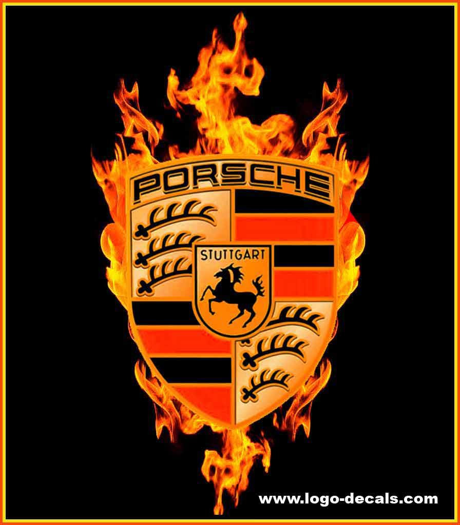 Porsche Decals Porsche Emblem