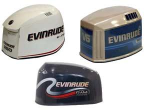 Evinrude Decals Evinrude Engine Cover