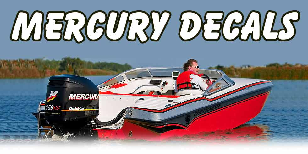 Mercury Outboard Decals